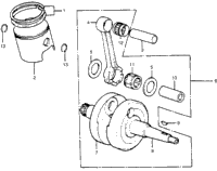 >CRANKSHAFT / PISTON