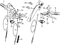 >HANDLE LEVER / SWITCH / CABLE