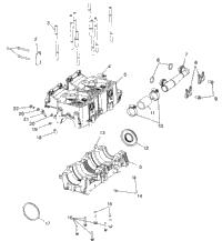 >Crankcase 700 Rmk , 700 Sks 0970566 & European 700 Sks E970566