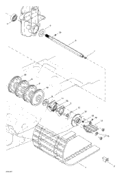 >Drive Axle And Track