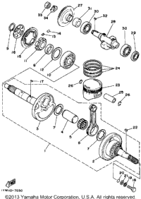>Crankshaft-Piston