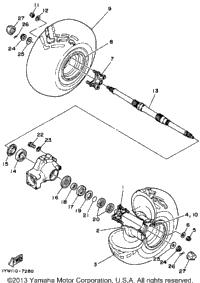 >Rear Wheel