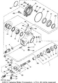 Electrical Switch Box Support further Yamaha 50 Engine Diagram together with Scooter Deck Diagram additionally Kubota Glow Plug Relay Location furthermore Schematic Air Jet. on yamaha waverunner wiring schematics diagrams