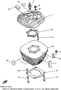Blaster Rear Axle Parts Diagram