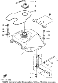 Yamaha Blaster Transmission on wiring diagram for yamaha blaster