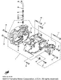 Yamaha Yfz 450 Clutch Diagram