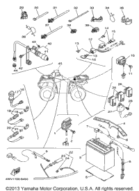 Preview on Yamaha Grizzly 600 Wiring Diagram