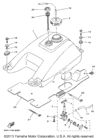 1998 Grizzly Yfm600fwak Parts on yamaha grizzly 600 wiring diagram