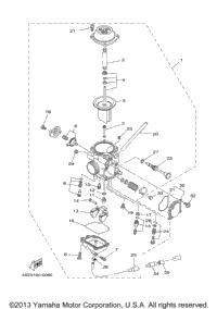 2001 yamaha bear tracker  yfm250xn  oem parts  babbitts online