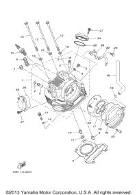 2001 yamaha bear tracker  yfm250xn  oem parts  babbitts