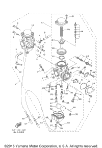 2001 Yamaha 660R RAPTOR (YFM660RNC) OEM Parts, Babbitts Yamaha ...