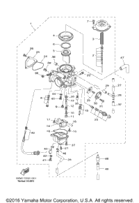 Preview on 2005 Yamaha Grizzly 660 Carburetor Diagram