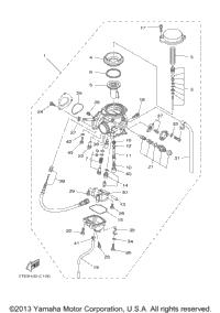 yamaha kodiak 400 parts diagram yamaha image 2004 yamaha kodiak 400 4x4 yfm4fas oem parts babbitts yamaha on yamaha kodiak 400 parts diagram