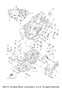 Kfx400 Wiring Diagram together with Drive Shaft further 2009 Yamaha Yfz450 Yfz450yw Cylinder Assembly as well T1938026 Lot gas  ing out carb overflow tube together with Triumph Oil Tank Diagram. on yamaha yfz 450 clutch diagram