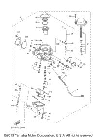 2006 Yamaha RAPTOR 350 SE (YFM350RSEV) OEM Parts, Babbitts Yamaha ...