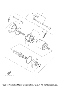 Fuel System Diagram On Dt466e 4700 additionally 2003 Yamaha Atv 400 additionally Rhino Wiring Diagram further 2006 Yamaha Grizzly 660 Wiring Diagram as well Headlight. on 2006 kodiak 450 radiator