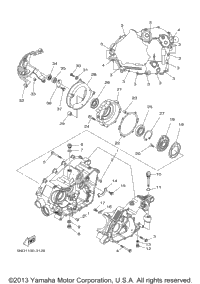 yamaha grizzly parts diagram yamaha image wiring 2007 yamaha grizzly 450 yfm45fgw oem parts babbitts yamaha on yamaha grizzly parts diagram