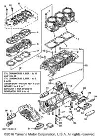>Cylinder Crankcase 1