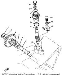 >Tachometer Gear