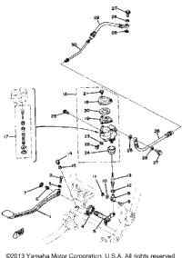 >Brake Pedal-Rear Master Cylinder