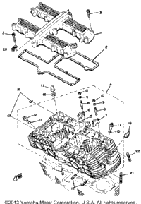 >Cylinder Head Cover-Cylinder Head