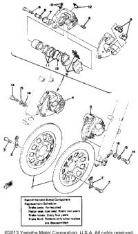 >Front Disc Brake-Caliper