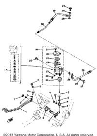 >Brake Pedal - Rear Master Cylinder