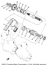 >Primary Shaft - Chain