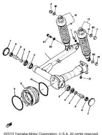 >Swing Arm - Rear Shocks