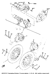 >Front Brake Caliper