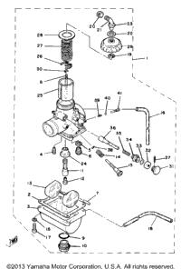 >Carburetor Yz80h