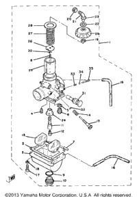 >Carburetor Yz80j