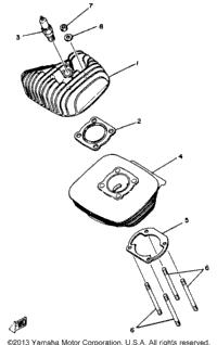 >Cylinder Yz80g