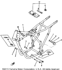 >Frame Tool Yz80h J