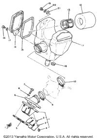 >Intake Yz80h