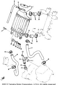 >Radiator Hose Yz80j