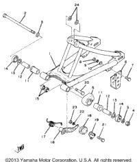 >Rear Arm Yz80g