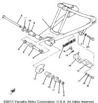 >Rear Arm Yz80h