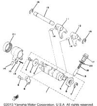 >Shift Cam Fork Yz80g