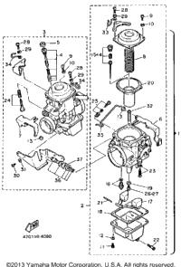 >Carburetor Xv1000lc Nc