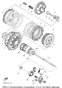 1991 Fzr600rbc Parts furthermore Yz 125 Master Cylinder Diagram further  on harley rear master cylinder diagram 1991