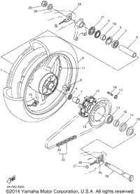 2001 yamaha yzf r1 yzfr1n oem parts babbitts yamaha for Yamaha r1 oem parts
