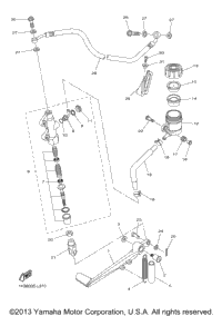 >Rear Master Cylinder