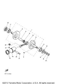 2013 Yamaha PW50 (PW50D1) OEM Parts, Babbitts Yamaha Partshouse