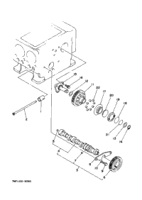Camshaft Idle Gear