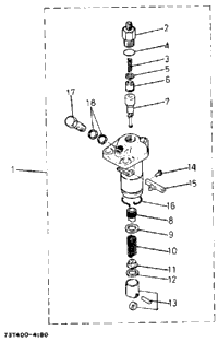 Injection Pump (Section Parts)