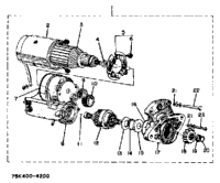 Starter (Section Parts) Edy 5000 Dve