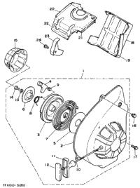 Air Shroud - Starter