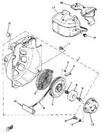 1998 yamaha ef600 fuel tank babbitts honda partshouse for Ef600 yamaha generator