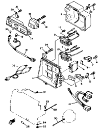 1998 yamaha ef600 intake carburetor yamaha sports plaza for Ef600 yamaha generator